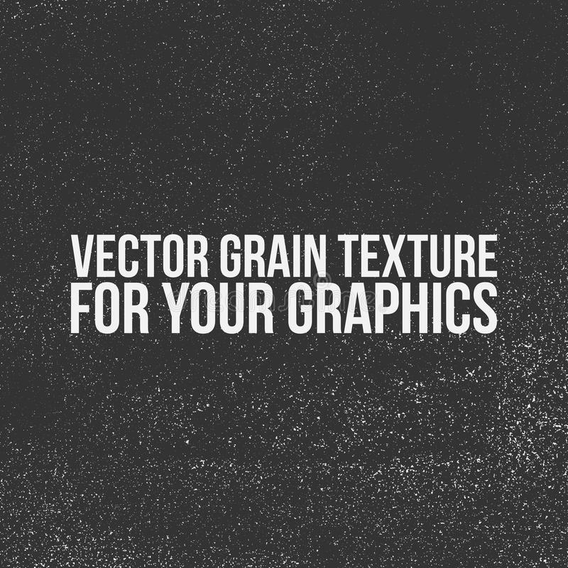 Textura del grano del vector para sus gráficos libre illustration