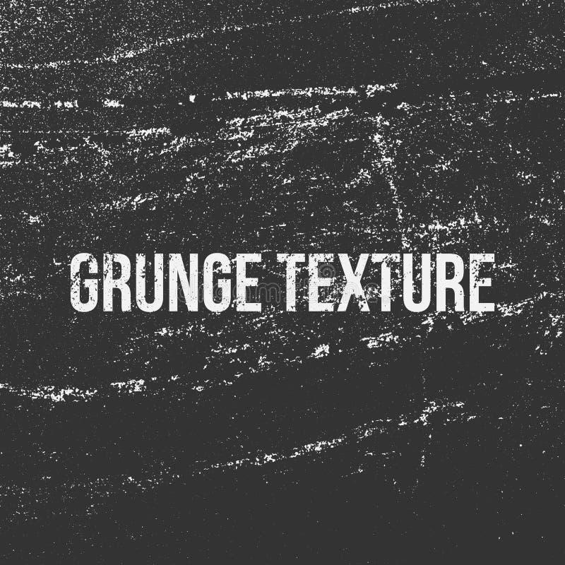 Textura del Grunge como un grano, un polvo o una tiza ilustración del vector