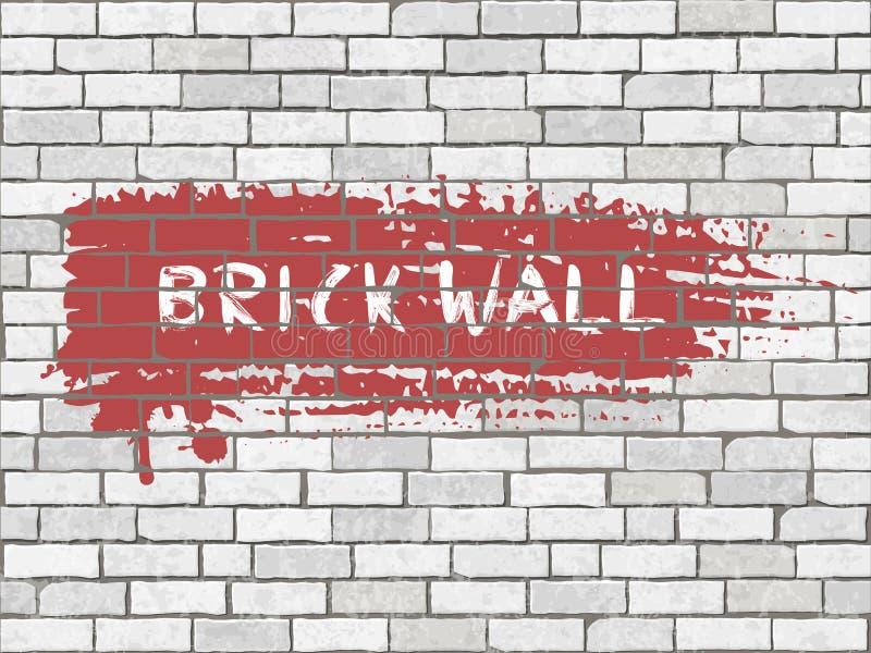 Textura del grunge de la pared de ladrillo libre illustration