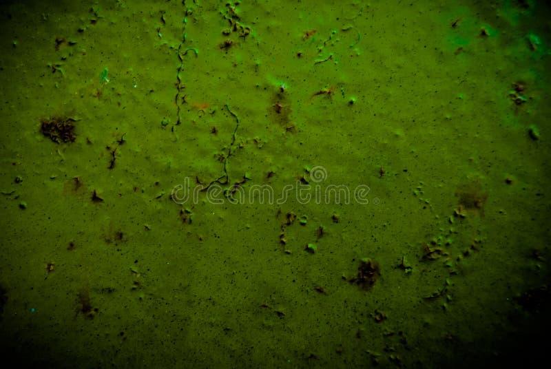 Textura del Grunge del metal oxidado verde fotos de archivo