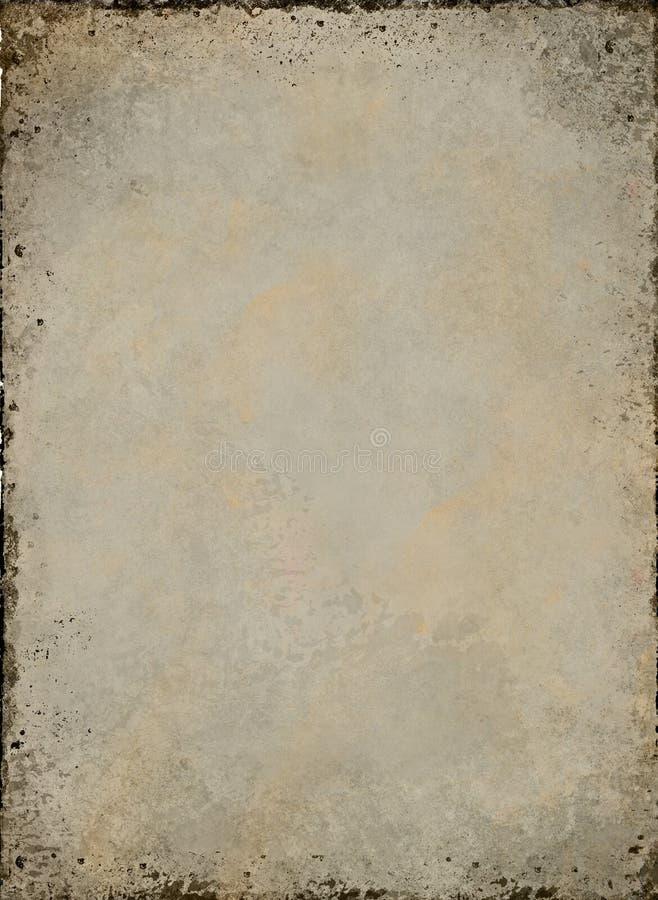Textura del grunge del pergamino ilustración del vector
