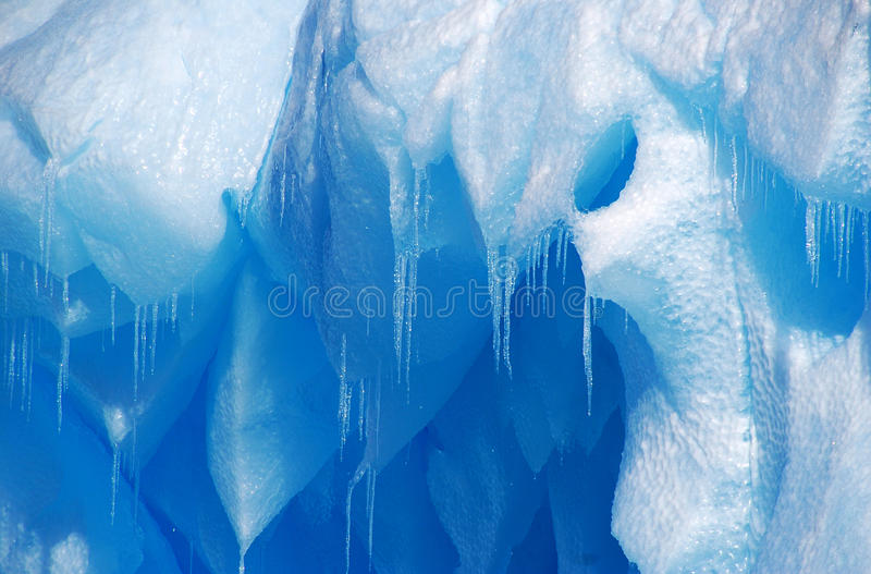 Textura del hielo del goteo imagen de archivo libre de regalías