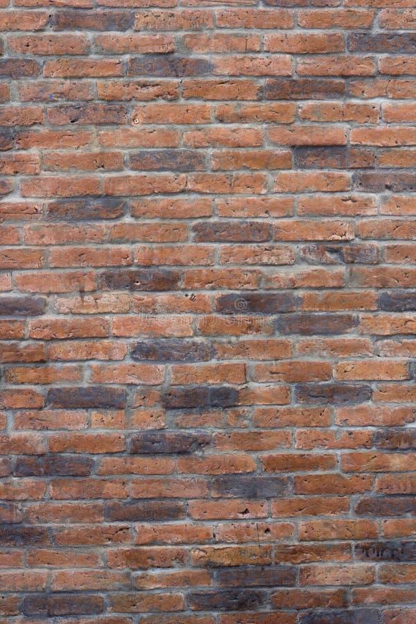 Textura del ladrillo rojo del Grunge imagen de archivo libre de regalías