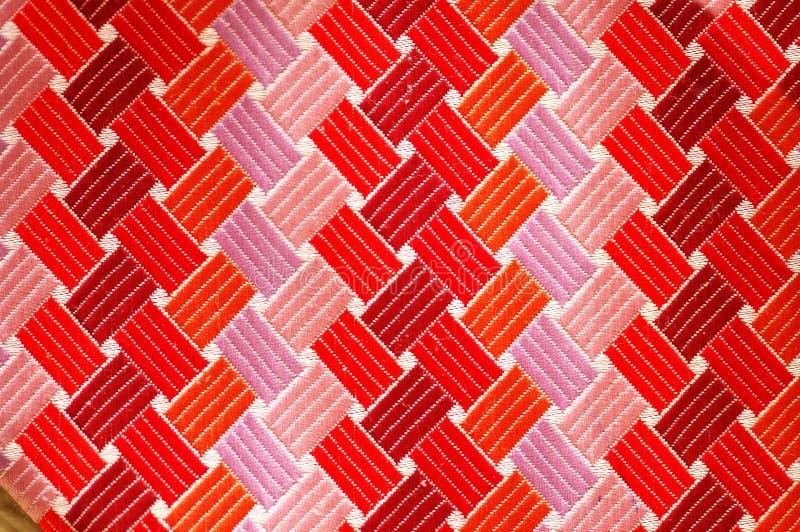 Textura del lazo de seda coloreado imagen de archivo libre de regalías