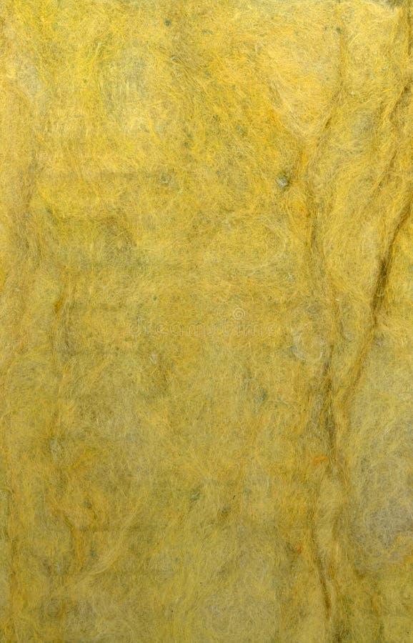 Textura del material de aislante termal foto de archivo libre de regalías