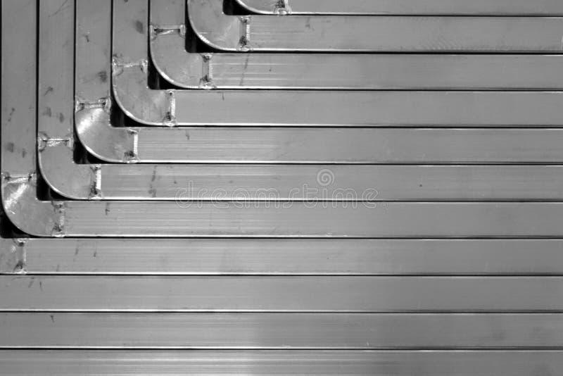 Textura del metal del ángulo foto de archivo libre de regalías