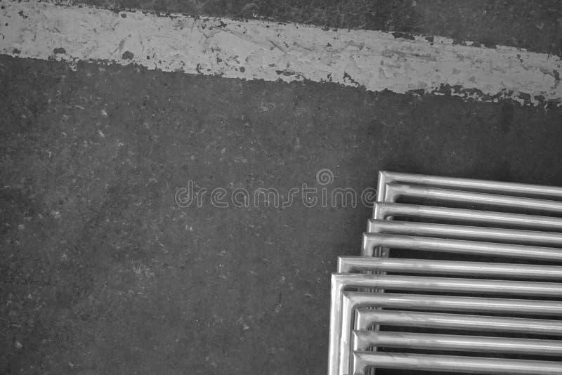 Textura del metal del ángulo foto de archivo