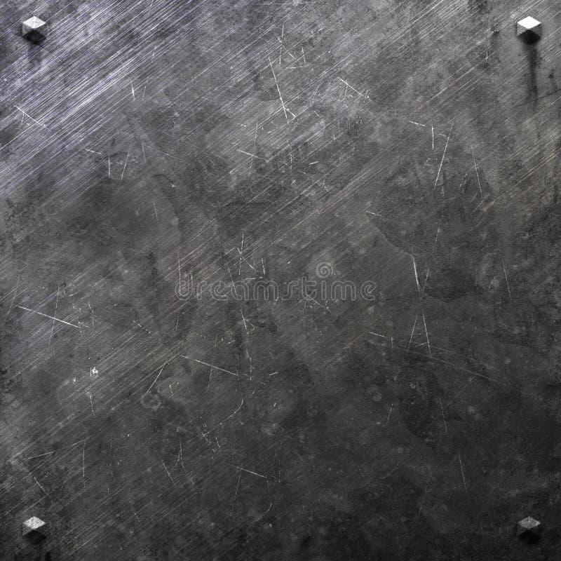 Textura del metal libre illustration