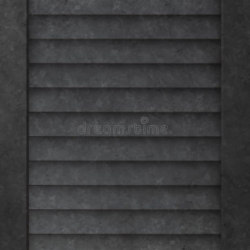 Download Textura del metal stock de ilustración. Ilustración de aluminio - 7286317