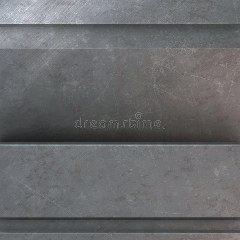 Download Textura del metal stock de ilustración. Ilustración de oxidado - 7286512