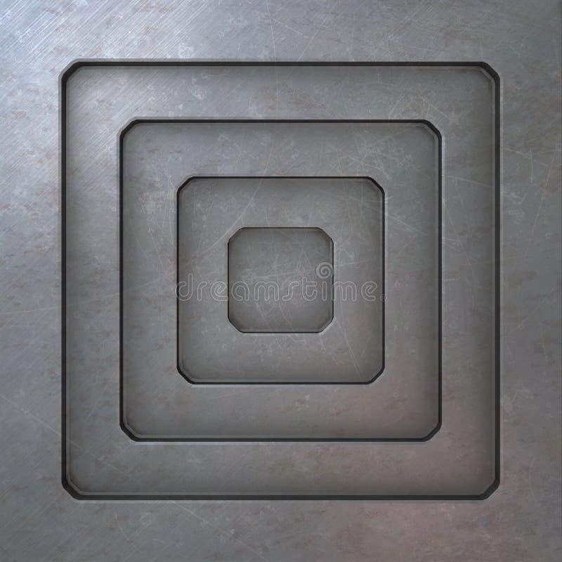 Download Textura del metal stock de ilustración. Ilustración de aluminio - 7286560