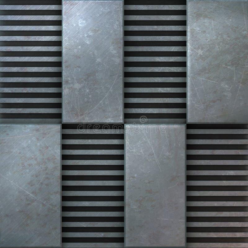 Download Textura del metal stock de ilustración. Ilustración de áspero - 7286679