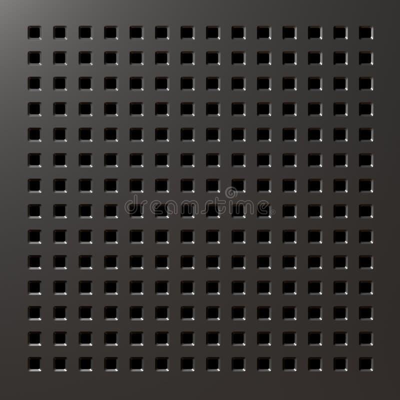 Download Textura del metal stock de ilustración. Ilustración de inconsútil - 7287345