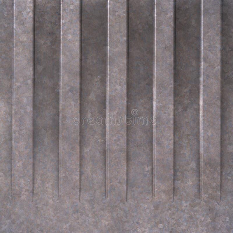 Download Textura del metal stock de ilustración. Ilustración de gris - 7287845