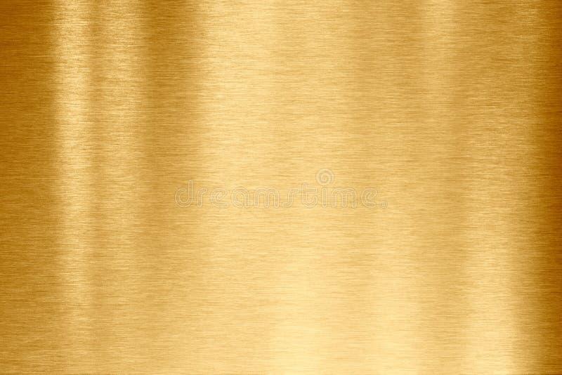 Textura del metal del oro imagen de archivo