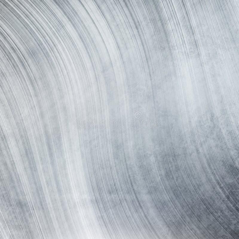 Textura del metal plateado stock de ilustración