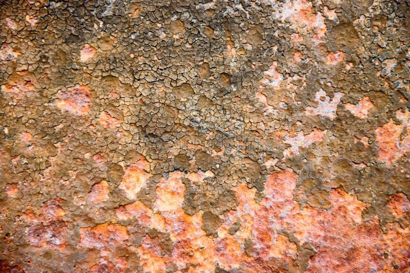 Textura del moho en el metal imagenes de archivo