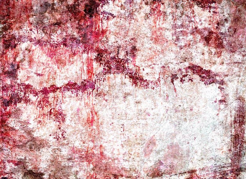 Textura del muro de cemento arruinada manchada fotografía de archivo