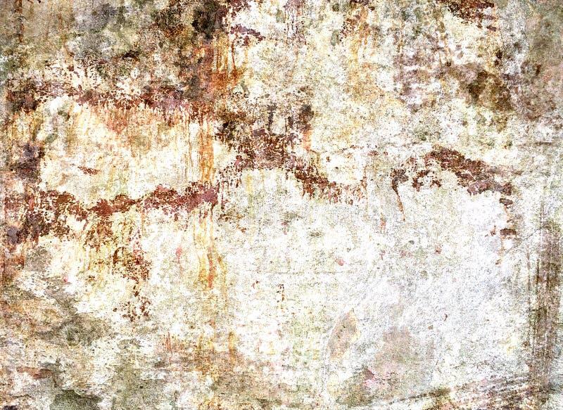 Textura del muro de cemento arruinada manchada fotos de archivo libres de regalías