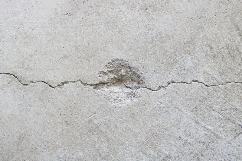 Textura del muro de cemento de la grieta, fondo abstracto imagen de archivo