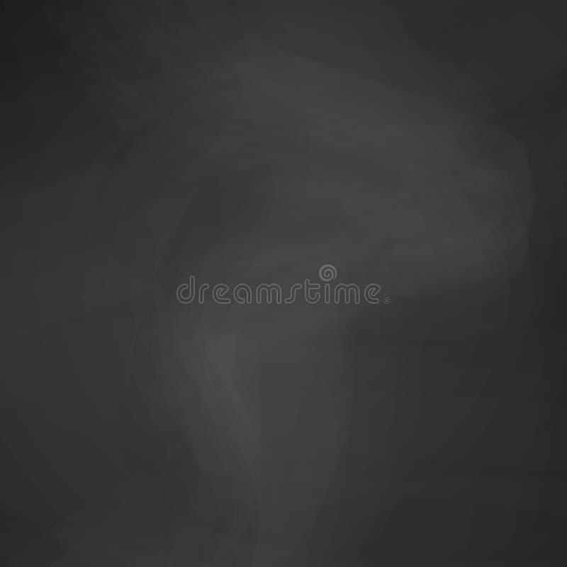 Textura del negro de la pizarra fondo para una bandera en el tema de la educación y de la escuela Fondo del menú del restaurante  stock de ilustración