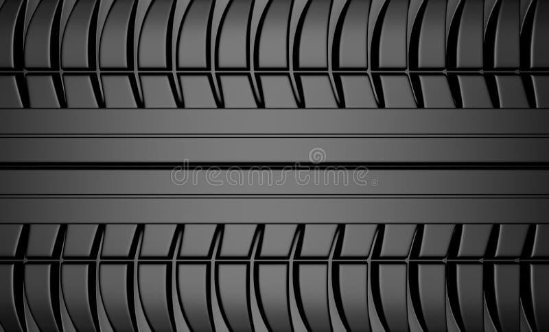 Textura del neumático ilustración del vector