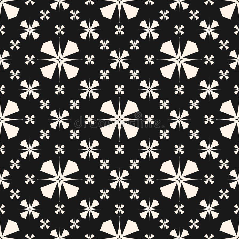 Textura del ornamento floral Vector el modelo inconsútil con las flores, estilo asiático libre illustration