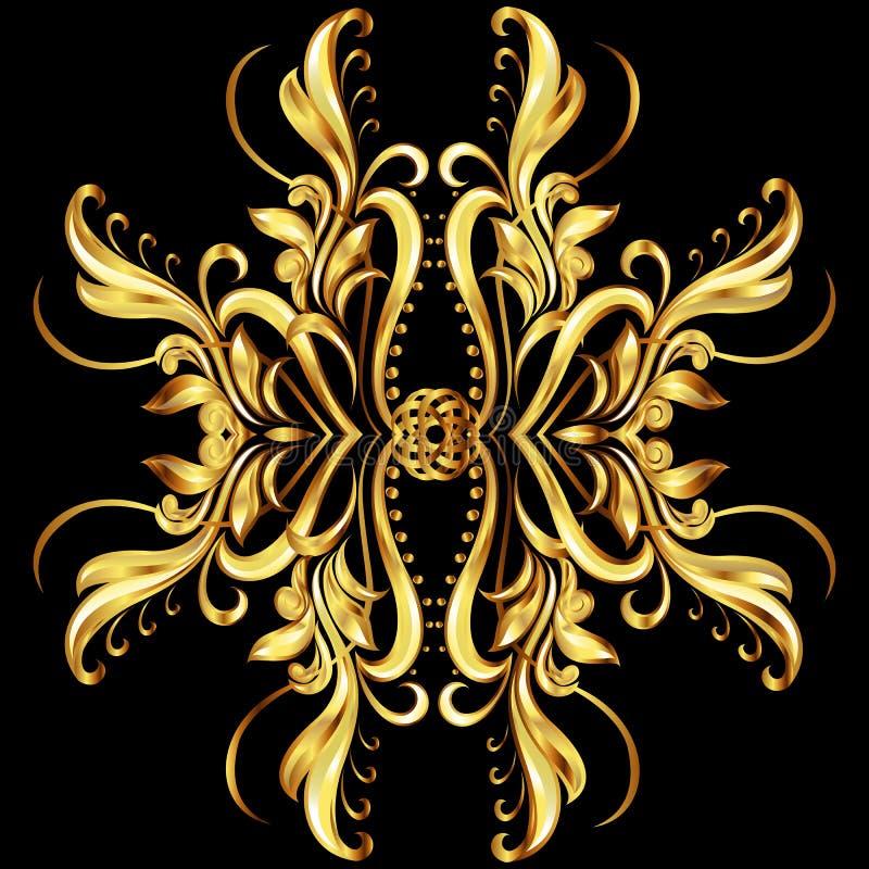 Textura del oro libre illustration