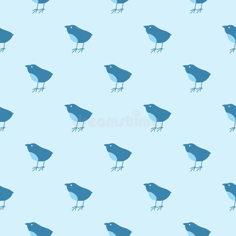 Textura del pájaro ilustración del vector