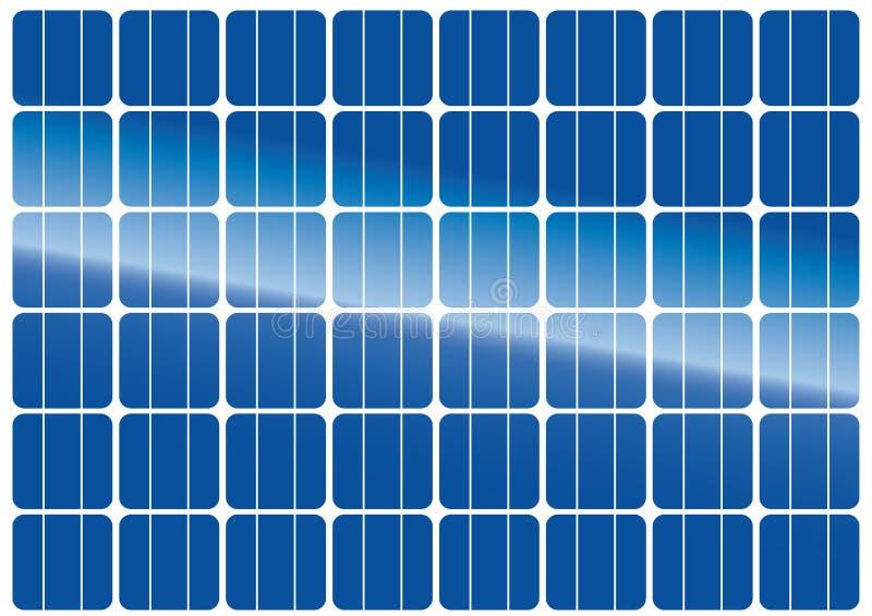 Textura del panel solar libre illustration