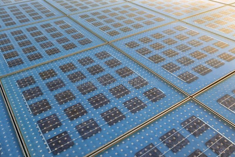 Textura del panel solar foto de archivo