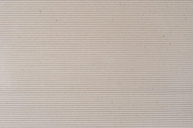 Textura del papel acanalado imagen de archivo