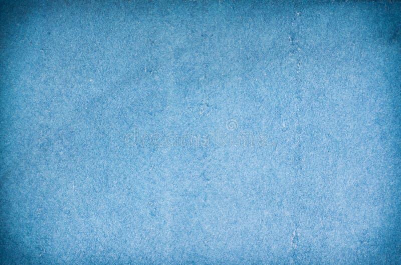 Textura del papel azul imagen de archivo