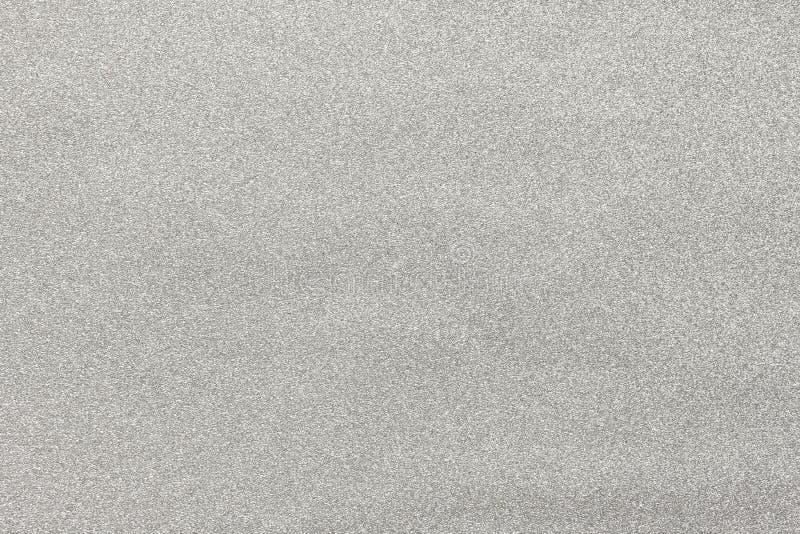 Textura del papel chispeante de plata imagen de archivo