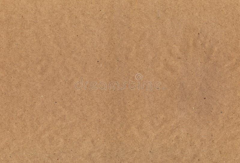 Textura del papel de Kraft imagen de archivo libre de regalías