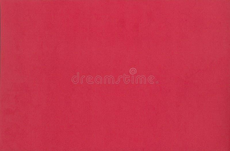 Textura del papel de la espuma del color rojo para el fondo o el diseño fotografía de archivo