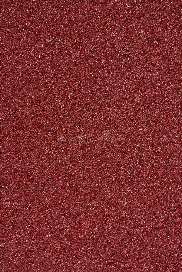 Textura del papel de lija de Brown imagen de archivo