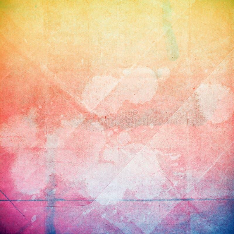 Textura del papel del Grunge, fondo del vintage fotos de archivo libres de regalías
