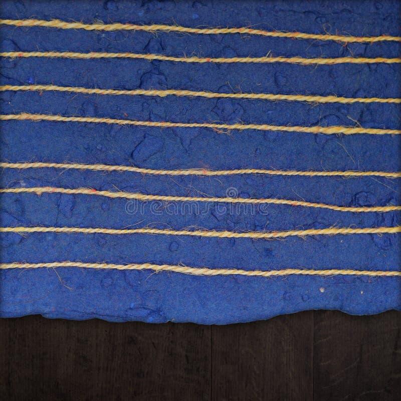 Textura del papel hecho a mano foto de archivo libre de regalías