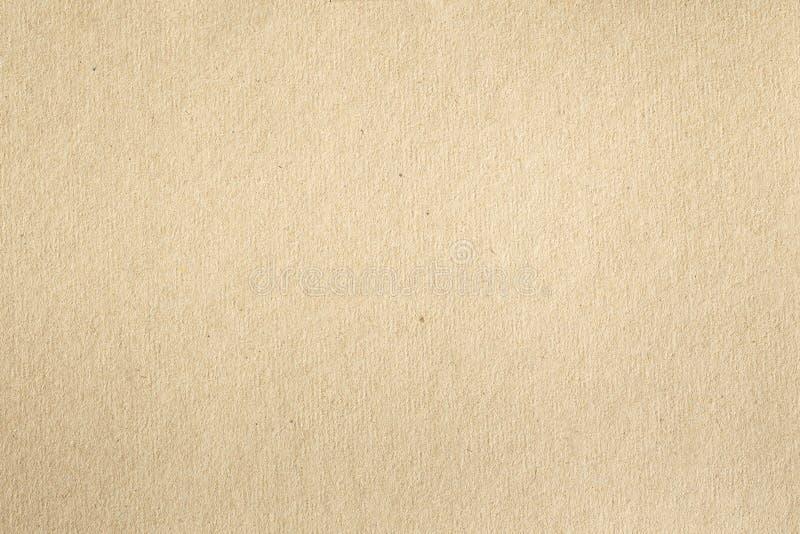 Textura del papel marrón viejo para el fondo, cierre para arriba del recycl foto de archivo