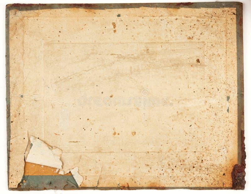 Textura del papel rasgado viejo imagen de archivo libre de regalías