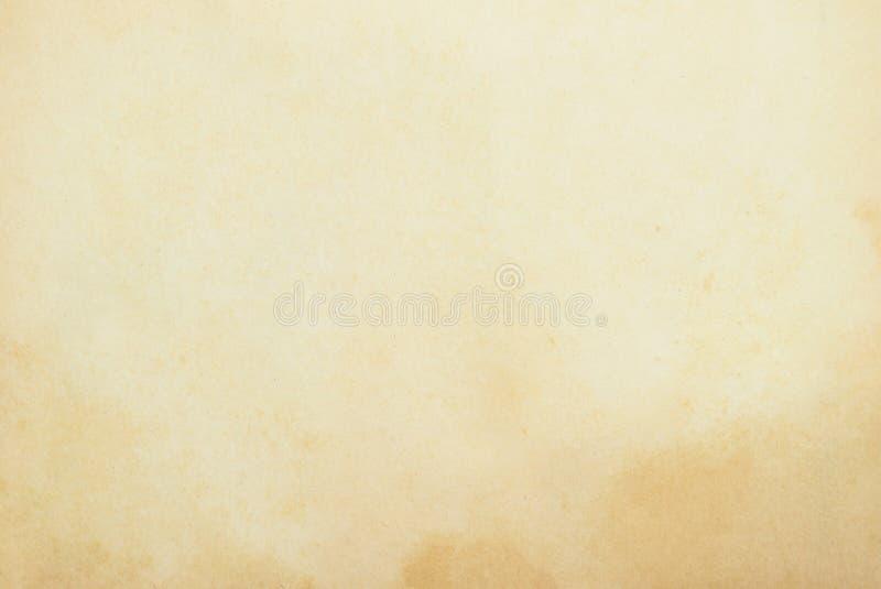 Fondo De Papel Viejo: Textura Del Papel Viejo Foto De Archivo. Imagen De Blank