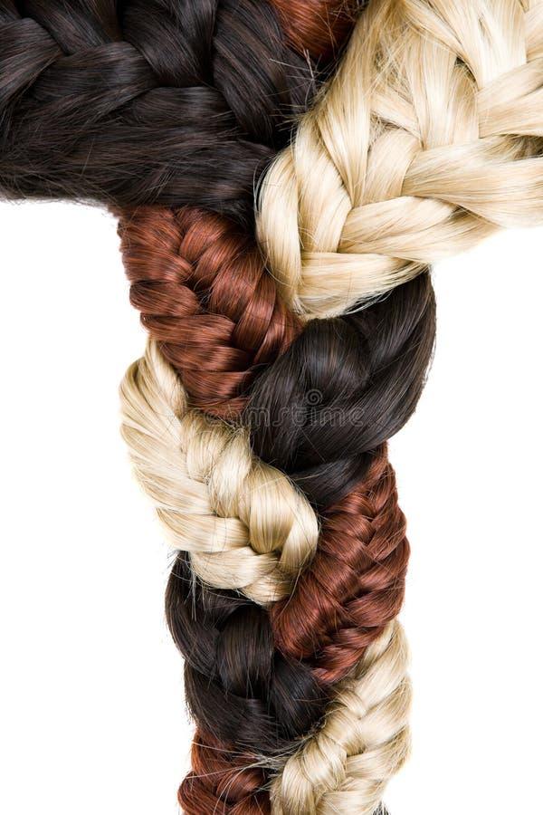Textura del pelo imagenes de archivo