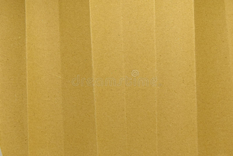 Textura del pliegue del papel de Brown fotografía de archivo libre de regalías
