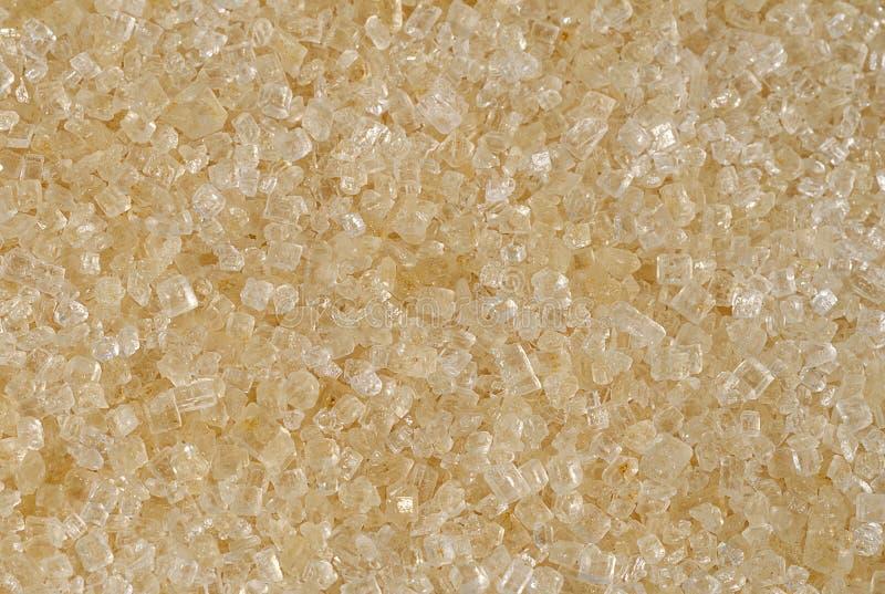 Textura del primer del azúcar marrón imágenes de archivo libres de regalías