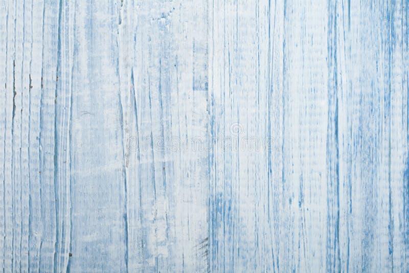 Textura del primer de madera azul del fondo Visión superior imagen de archivo