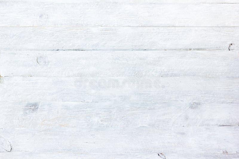 Textura del primer de madera blanco del fondo Visión superior foto de archivo