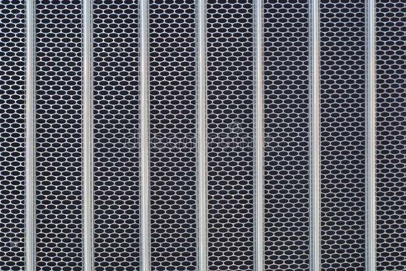 Textura del radiador del frente del camión del cromo de la rejilla del metal imagen de archivo libre de regalías