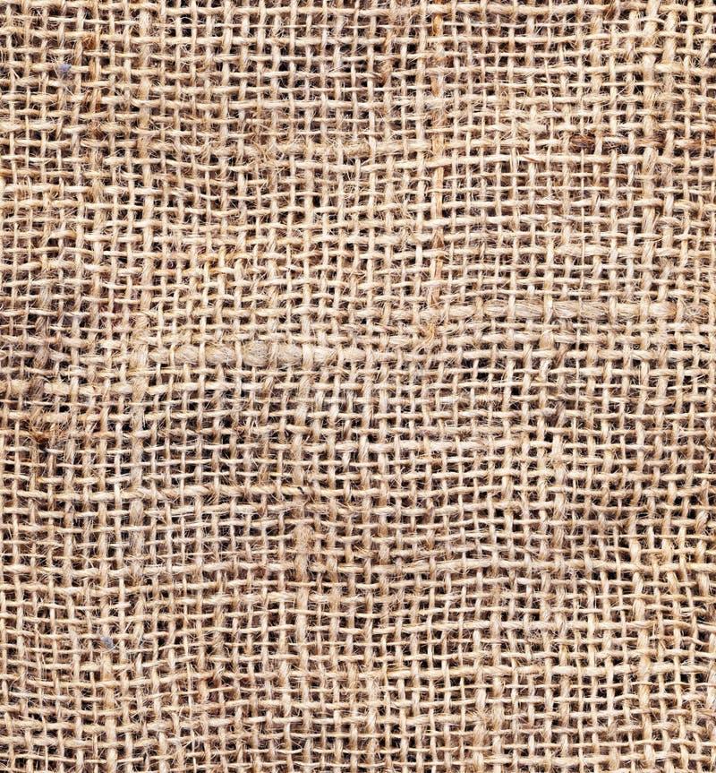 Textura del saco foto de archivo