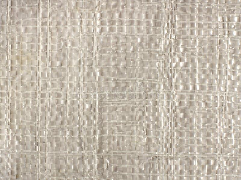 Textura del saco del polipropileno foto de archivo libre de regalías